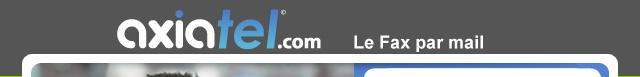 Axiatel.com  |  Le Fax par Mail